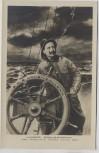 AK Kaiser Wilhelm II. Unser Steuermann S.M.S. Hohenzollern Schiff 1905 RAR Sammlerstück