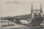 AK Strassburg Strasbourg Eisenbahnbrücke Elsass Frankreich 1910