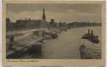 AK Düsseldorf Rhein mit Altstadt Dampfer 1939