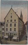 AK Konstanz am Bodensee Gasthof Hotel Restaurant Hohes Haus Zollernstraße Feldpost 1918 RAR
