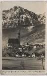 AK Foto Anger bei Bad Reichenhall das schönste Dorf Bayerns Berchtesgadener Land 1937
