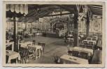 AK Foto Bad Reichenhall Bergwirtshaus Zum Schroffen Innenansicht 1940
