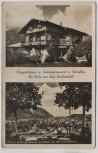 AK Foto Bad Reichenhall Bergwirtshaus Zum Schroffen Hausansicht Ortsansicht 1940
