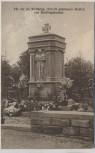 AK Hertlingshausen Denkmal für die im Weltkrieg 1914-18 gefallenen Helden b. Carlsberg Pfalz 1920 RAR Sammlerstück