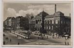 AK Foto Köln Hohenstaufenring mit Hohenstaufenbad Straßenbahn 1940