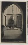 AK Foto Frankfurt (Oder) Marienkirche Taufstein 1940