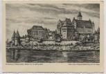 Künstler-AK Marienburg Westpreußen B. Hellingrath Malbork Polen 1940