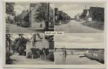 AK Gruß aus Roda / Grimma Gasthof Bad Dorfstrasse b. Mutzschen Cannewitz 1940