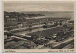 AK Foto Kiel-Holtenau Schleusen mit Blick auf den Hafen 1935