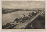 AK Foto Kiel Blick auf die Schleusen des Kaiser Wilhelm-Kanals und Holtenau 1935