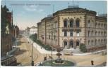 AK Saarbrücken Bergamt mit Triererstraße 1919