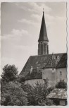 AK Foto Kemnath Oberpfalz Blick zur Kath. Stadtpfarrkirche 1959