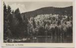 AK Foto Rachelsee mit Rachel Waldzauber b. Sankt Oswald-Riedlhütte 1938