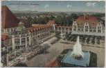 AK Ostseebad Zoppot Kurgarten Sopot b. Danzig Gdańsk Polen 1940