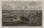 AK Foto Ostseebad Ahrenshoop Ostsee mit Boot Fischland Darß 1936