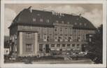 AK Nový Bor Haida bei Liberec Hotel Zimmerhackel 1935