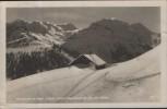 AK Unterjoch im Bayr. Allgäu 1013 m Skigelände m. Spieser 1649 m Bad Hindelang 1936