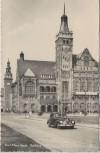 AK Foto Karl-Marx-Stadt Chemnitz Rathaus mit Auto 1958
