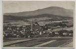 AK Foto Zwiesel Ortsansicht mit Kirche 1929