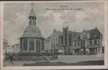 AK Wismar Wasserkunst und alter Schwede am Markt 1923