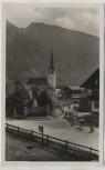 AK Foto Bayrischzell Ortsansicht mit Alm Abtrieb b. Miesbach 1940