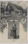 AK Wiedensahl Geburtshaus W. Busch Bildnis 1865 b. Stadthagen 1908