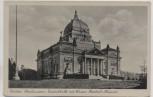 AK Foto Görlitz Oberlausitzer Gedenkhalle mit Kaiser-Friedrich-Museum 1935