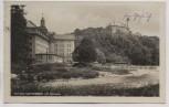 VERKAUFT !!!   AK Foto Schloss Sachsenburg mit Spinnerei b. Frankenberg 1934