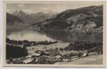 AK Foto Thumersbach mit Zell am See und Kitzsteinhorn Österreich 1935