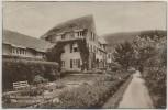 AK Foto Bad Blankenburg Thüringer Wald Sanatorium Dr. Warda 1925