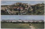 AK Bautzen Ortsansicht mit Infanterie-Kaserne Feldpost 1916