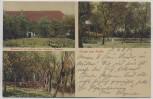 AK Gruss aus Auritz Restaurant zur grünen Aue b. Bautzen Feldpost 1914