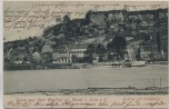 VERKAUFT !!!   AK Pirna Gruss aus dem Gasthof zu Posta Umgebung mit Dampfer 1904