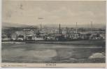 VERKAUFT !!!   AK Döhlen Ortsansicht mit Schule und Fabrik b. Freital 1908