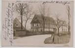 VERKAUFT !!!    AK Foto Höckendorf Strasse mit Häusern b. Laußnitz Königsbrück Lausitz 1915 RAR