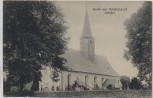 VERKAUFT !!!    AK Gruß aus Höckendorf Kirche b. Laußnitz Königsbrück Lausitz 1917 RAR