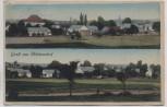 VERKAUFT !!!    AK Gruß aus Höckendorf Ortsansicht b. Laußnitz Königsbrück Lausitz 1920 RAR