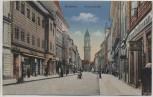 AK Bautzen Reichenstraße Menschen Kinderwagen 1917 RAR Sammlerstück