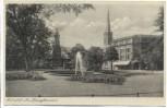AK Bitterfeld Am Springbrunnen 1950