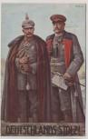 AK Deutschlands Stolz Hindenburg Kaiser Wilhelm II. Patriotika 1915
