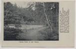 VERKAUFT !!!   AK Halle / Saale Herda-Teich in der Dölauer Heide Gedicht 1930 RAR