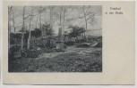 VERKAUFT !!!   AK Halle / Saale Friedhof in der Dölauer Heide Verlag Heide-Verein 1930 RAR