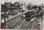 AK Foto Belzig Dampflokomotive Bahnhof Eilbote 1987
