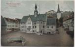 AK Blankenburg im Harz Marktplatz 1910
