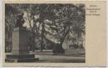 AK Güstrow Kriegerdenkmal 1870/71 in den Anlagen Stempel 5. Kompanie Flieger-Ausbildungsregiment 22 Feldpost 1940