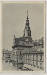 AK Troppau Oberring mit Schmetterhaus und Stadttheater Opava Stempel Postamt Jägerndorf Tschechien 1938
