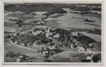 AK Gruß aus Weng/Rottal Fliegeraufnahme Luftbild b. Bad Griesbach Landpoststempel 1955