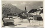 AK Mittelberg mit Bärenkopf im Winter Vorarlberg Österreich 1930