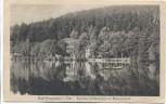 AK Bad Georgenthal in Thüringen Kurhaus Schützenhof am Hammerteich 1920