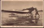 AK Der leichte Sport-Eindecker das Standard-Flugzeug der DLV-Vereine 1930